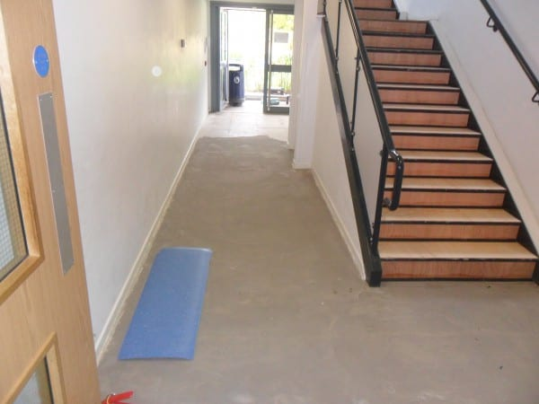 Flooring for School Staircase