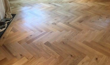 Herringbone Parquet Flooring in Bromley
