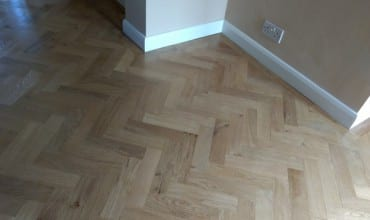 Parquet Flooring Installation at Home in Longfield