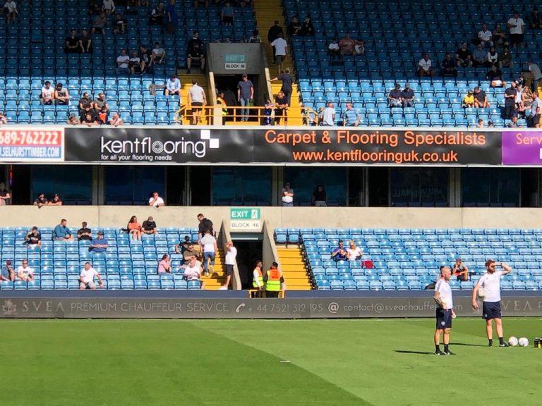 Kent Flooring Sponsoring Millwall