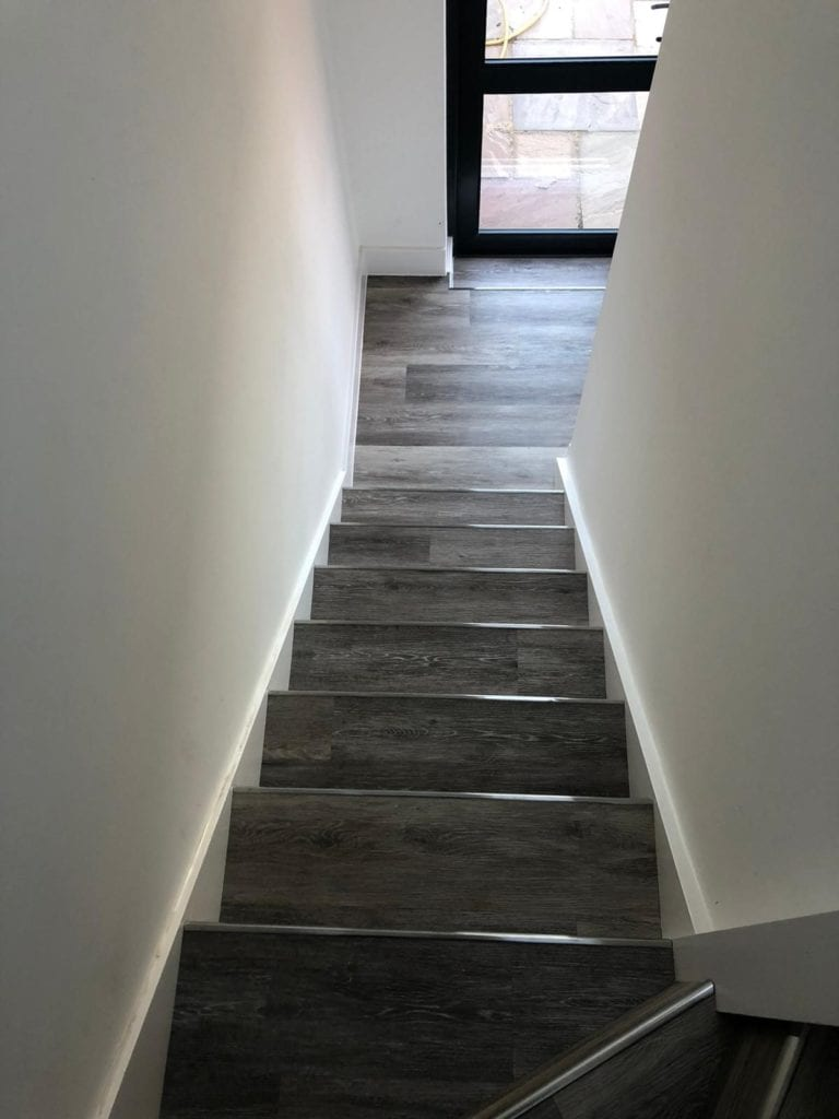 Domestic Property Garage Staircase and Hallway